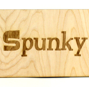 Laser Engraved Wooden Sign